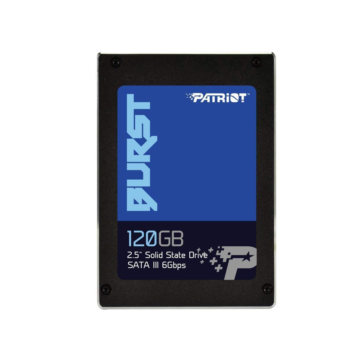 "Patriot Memory Burst SSD 120GB SATA III Internal Solid State Drive 2.5"" - PBU120GS25SSDR"