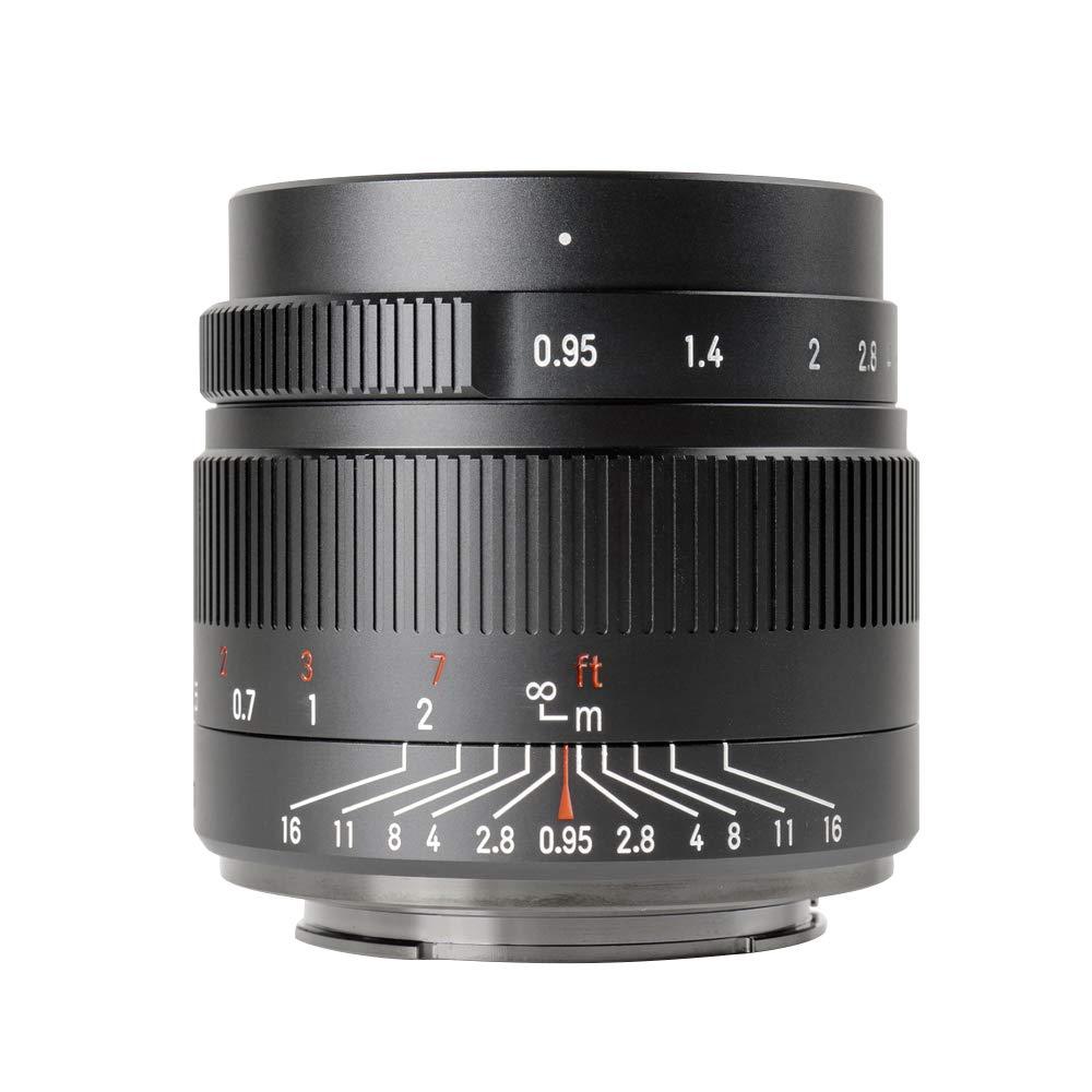 7artisans 35mm f0.95 Large Aperture APS-C Mirrorless Cameras Lens Compact for Fuji X-T1 X-T2 X-T3 X-T20 X-T30 X-E1 X-E2 X-E3
