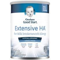 Gerber Extensive HA Hypoallergenic Powder Infant Formula with Iron, 14.1 Ounces