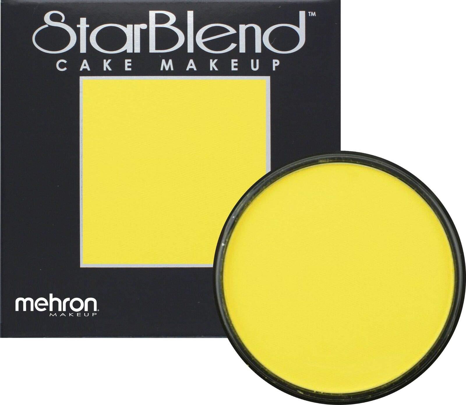 Mehron Makeup StarBlend Cake (2 oz) (Yellow)