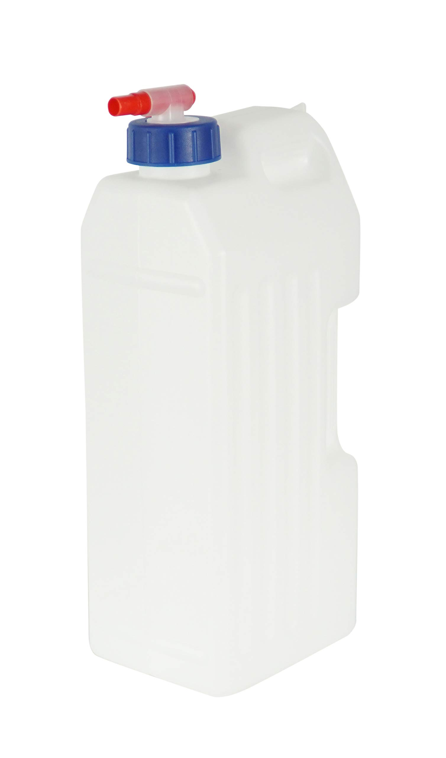 HOME-X Refrigerator Water Jug, Large Cold Beverage Dispenser with Spout, 3 Liters