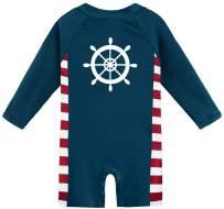 BesserBay Baby Boy's UPF 50+ Sun Protection Swimsuit Newborn One Piece Rash Guard 0-36 Months