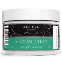 Karlash Professional Acrylic Powder Crystal Clear 4 oz