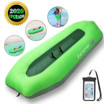Aenamer Inflatable Lounger Air Sofa Hammock - Portable Waterproof Anti-Air Leaking Couch Air Chair for Beach Pool Travelling Camping Hiking Party Park Picnic Backyard