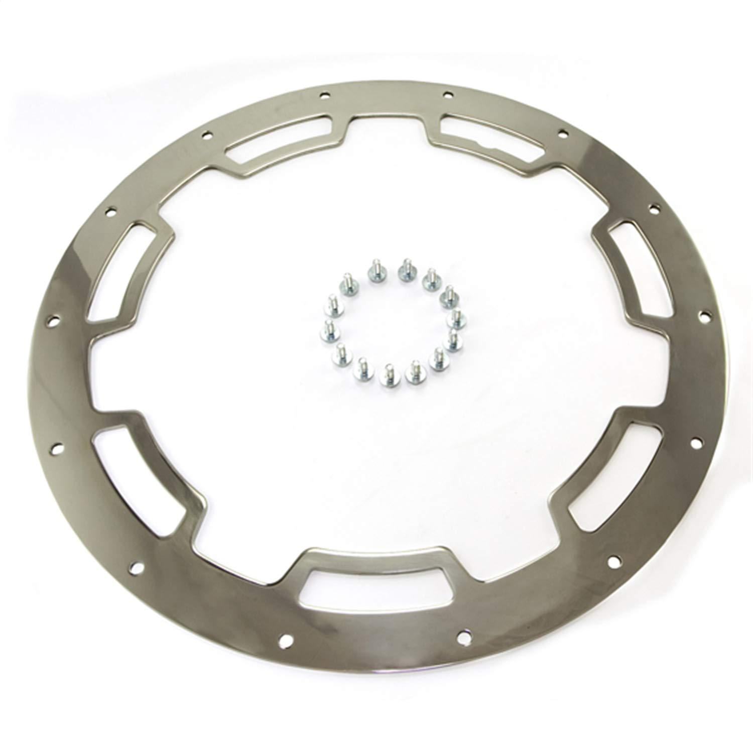 """Rugged Ridge 15250.01 Rim Protector for 17"""" X 9"""" Polished Stainless Steel Aluminum Wheel"""