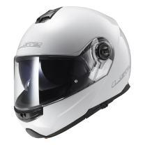 LS2 Helmets Modular Strobe Helmet (White - XXX-Large)