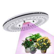 Plant Grow Light, LED Grow Lights for Indoor Plants, CANAGROW 100W UFO Waterproof Grow Light Plant Growing Lamp, New Technology Cob Led Grow Light, Natural Heat Dissipation Without Noise