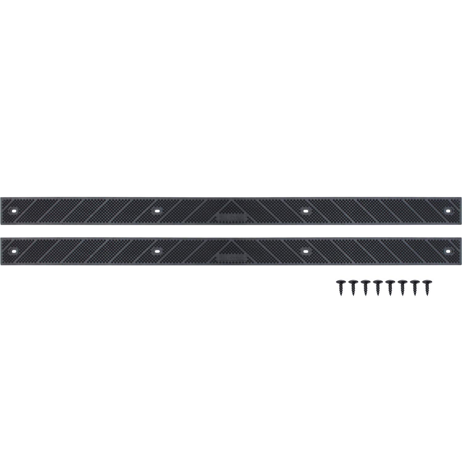 New Grip Strip No Adhesive Tread Tape Anti Non Slip High Traction Safety Step Indoor Outdoor For Any Stairs In Your Home Or Outdoor Setting 32 X 2 2 Pack Black