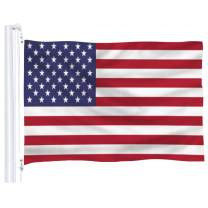 DFLIVE American Flag 3x5 Ft Thicker Polyester USA US The United States National Banner with Brass Grommets