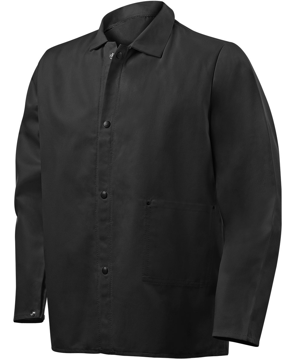 Steiner 1080-S 30-Inch Jacket, Weld Lite 9-Ounce Fire Resistant Cotton Black, Small