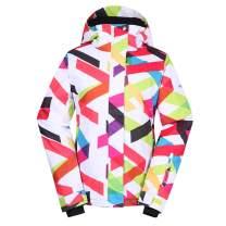 Women's Ski Jacket Windproof Warm Coat for Winter Sports
