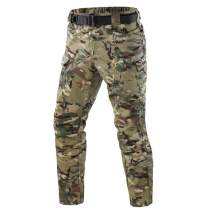 ShanMo Men's Tactical Pants Combat Camo Military Airsoft Army Quick Dry Trousers Casual Pants I7 (MFN)