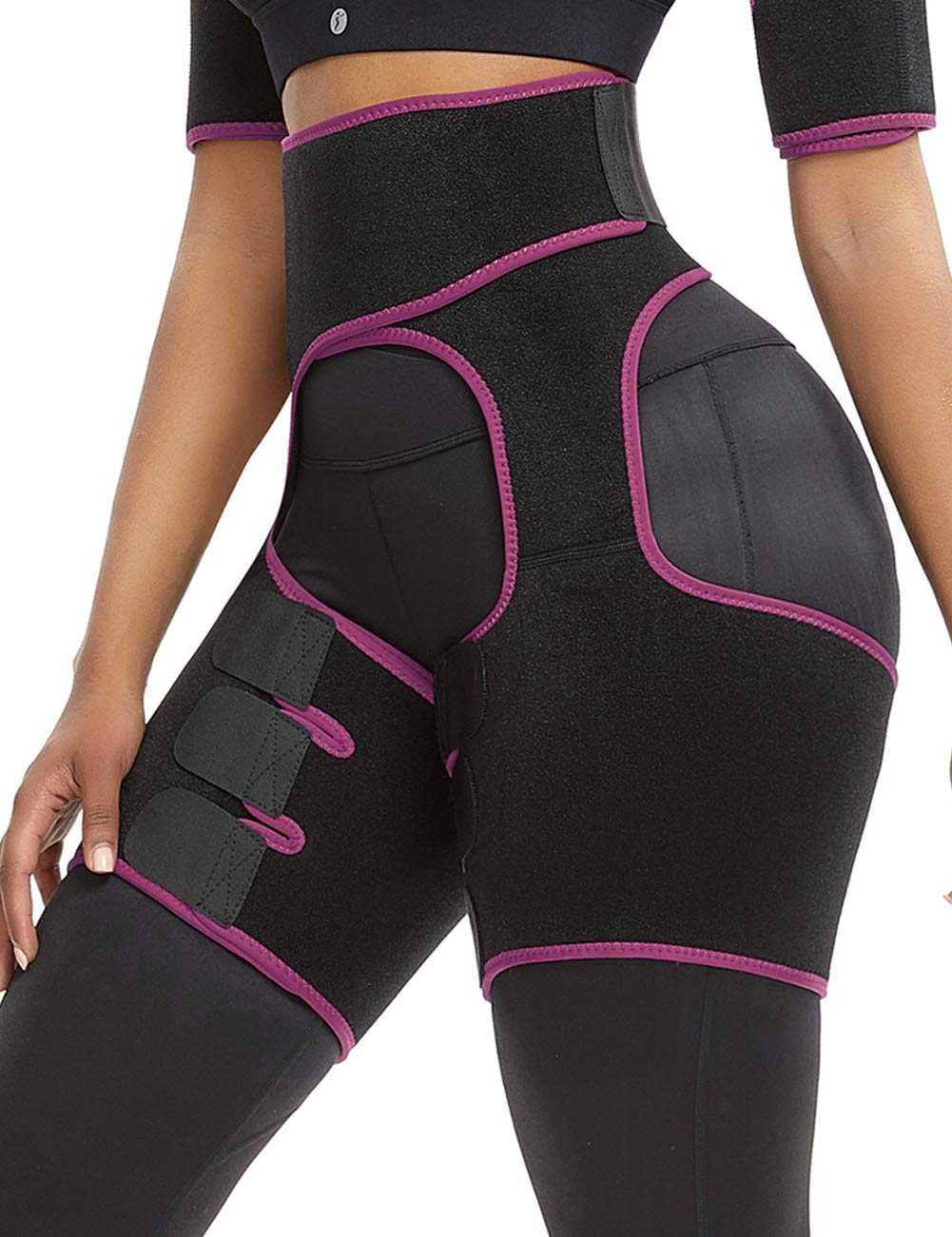 Groin Sciatica Relief Wrap Thigh Hamstring Compression Shapewear Thigh Support Neoprene Thigh Shapewear Waist Shaper