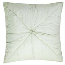 """VHC Brands Camille Mint Quilted Euro Sham, 26"""" x 26"""""""