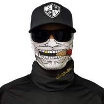 S A - 1 UV Face Shield - Gangster - Multipurpose Neck Gaiter, Balaclava, Elastic Face Mask for Men and Women