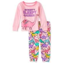The Children's Place Baby Girls' Dinosaur Pajama Set