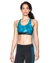 Under Armour Women's Heat Gear Printed Mid Bra