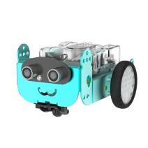 Emovendo Mio Programmable Robot Kits with Voice and LED Matrix Module STEAM Education Toys for Boys 7+ Entry-Level Programming Imporves Kid's Logical Thinking Creativity - Total 49pcs