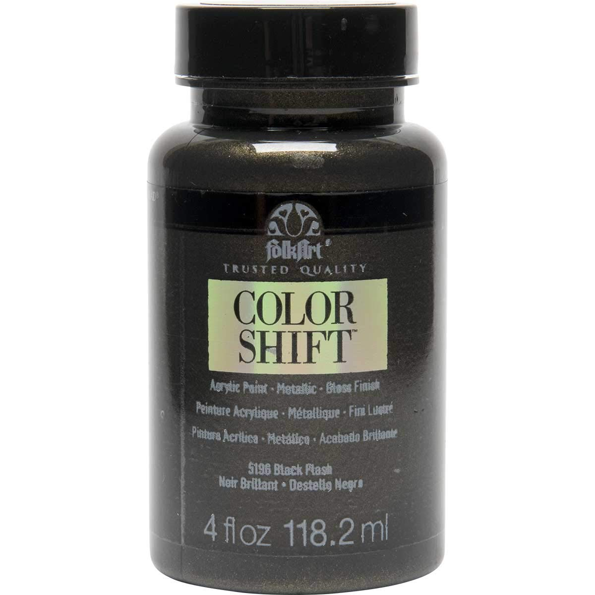FolkArt Color Shift Acrylic Paint in Assorted Colors (4 oz), Black Flash