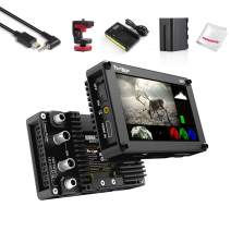 Portkeys BM5 HDMI-SDI 5.2 Inch Touch Screen Monitor 2200 Nits with 3D LUTs Camera Control, with Multi Cable for Sony Camera,Compatible with A9 A7R3 A7M3 A7R2 A7S2 A6000 A6300 A6400 A6500 RX100