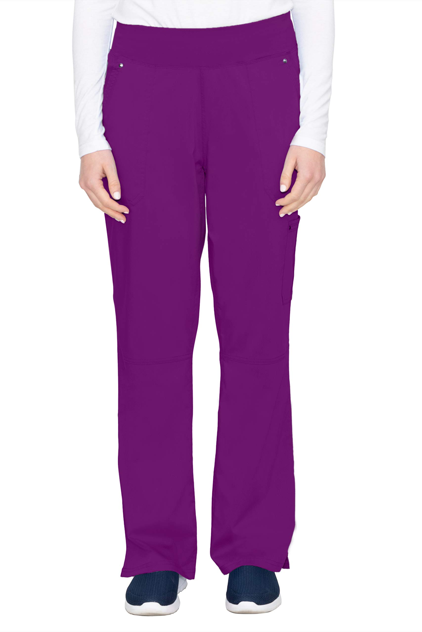 healing hands Purple Label Yoga Women's Tori 9133 5 Pocket Knit Waist Pant