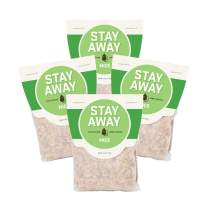 Stay Away Rodent Repellent Pest Control Scent Pouches - All Natural, Repels Mice with No Mess,and Environmentally Friendly, 4-Pack (Not for Sale in DC, NM, MS, CT, ME, SD, in, PR)