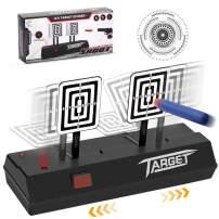 Electronic Shooting Target, Cyiecw Running Shooting Targets Scoring Auto Reset Digital Targets for Nerf Guns Blaster Elite/Mega/Rival Series, Ideal Gift Toy for Kids-Boys & Girls (2020 Upgrade Version