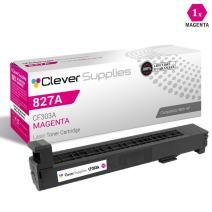CS Compatible Toner Cartridge Replacement for HP 827A CF303A Magenta Color Laserjet M880 Laserjet M880z Laserjet M880z+ Laserjet M880z+ NFC