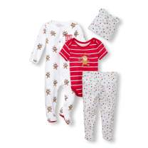 The Children's Place Baby Boys Circus Footie Set