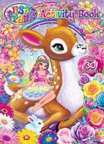Bendon Lisa Frank Activity Book with Stickers