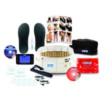 DR-HO'S 2-in-1 Decompression Belt Deluxe Package - for Lower Back Pain Relief and Lumbar Support - (Includes DR-HO'S Pain Therapy System Pro and More) and 1 Year Warranty - Size B (42-55 Inches)