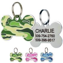 GoTags Camo Dog Tags in Stainless Steel