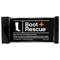BootRescue All Natural Cleaning Wipes for Leather & Suede Shoes & Boots for Dirt, Salt Stains