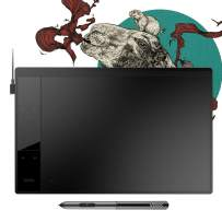"""VEIKK A30 Graphics Drawing Tablet with 8192 Levels Battery-Free Pen - 10"""" x 6"""" Active Area 4 Touch Keys and a Touch Pad"""