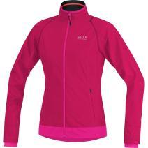 GORE BIKE WEAR Women's  Windstopper Active Shell Zip-Off Lady Jacket, Neon Yellow/Black, X-Small