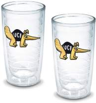 Tervis 1049639 Ca University Irvine Emblem Tumbler, Set of 2, 16 oz, Clear