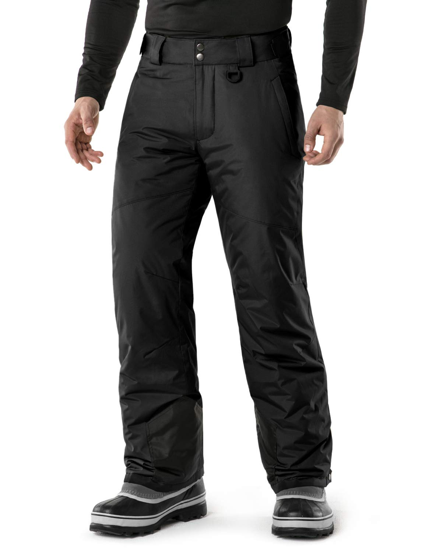 TSLA Men's Snow Pants Windproof Ski Insulated Water-Repel Rip-Stop Bottoms