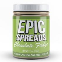 Epic Spreads Nut Butter (Chocolate Fudge Peanut Cashew Coconut)
