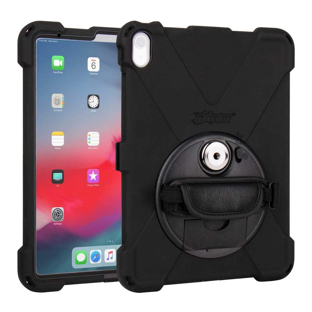 """The Joy Factory aXtion Bold MP Water-Resistant Rugged Shockproof Case for iPad Pro 11"""", Built-in Screen Protector, Hand Strap, Kickstand (CWA722)"""