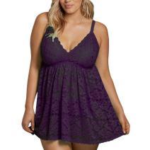 FeelinGirl Women Plus Size Sleepwear Outfits XL-4XL