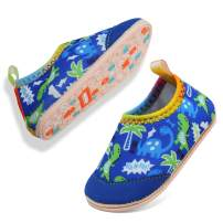 VIFUUR Baby Boys Girls Water Shoes Barefoot Aqua Socks for Beach Pool Indoor Play