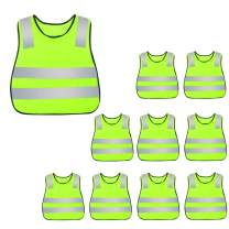 AIEOE High Visibility Safety Vest Children Bright Vest 10/15/20Packs