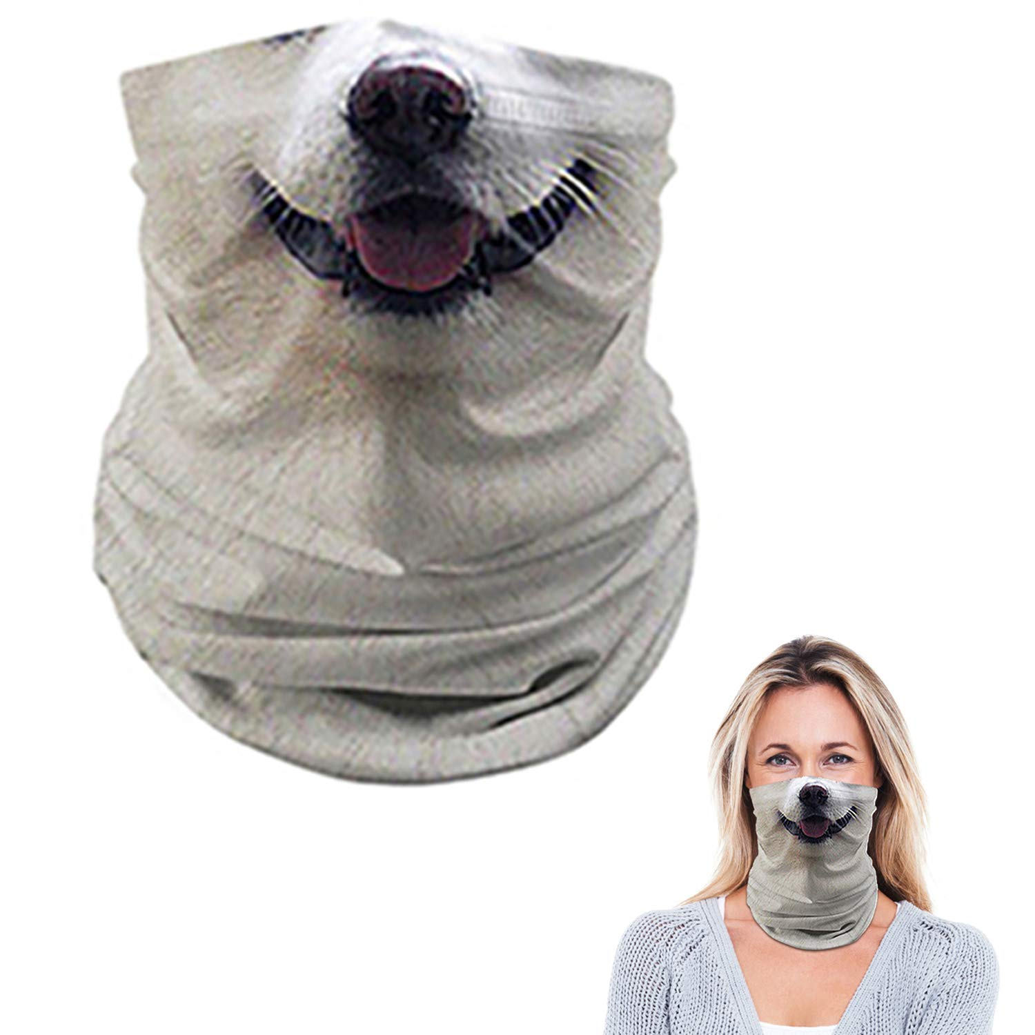 YOSUNPING Bandana Face Mask Mouth Cover for Dust Outdoors Wind Sports