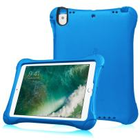 """Fintie Case for iPad 9.7"""" 2018 2017 / iPad Pro 9.7 / iPad Air 2 / iPad Air - Light Weight Shock Proof Impact Resistant Bumper Kids Friendly Protective Cover, Blue"""