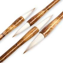 High-Grade Shanlian Hubi Fine Chinese Calligraphy Brush Sumi Brush Set for Beginner Watercolor Drawing Kanji Brush Set