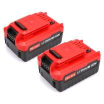 Energup 2 Pack 5.0Ah 20 MAX Lithium Replacement Battery for Porter Cable PCC685L PCC680L Porter Cable 20v Lithium Battery