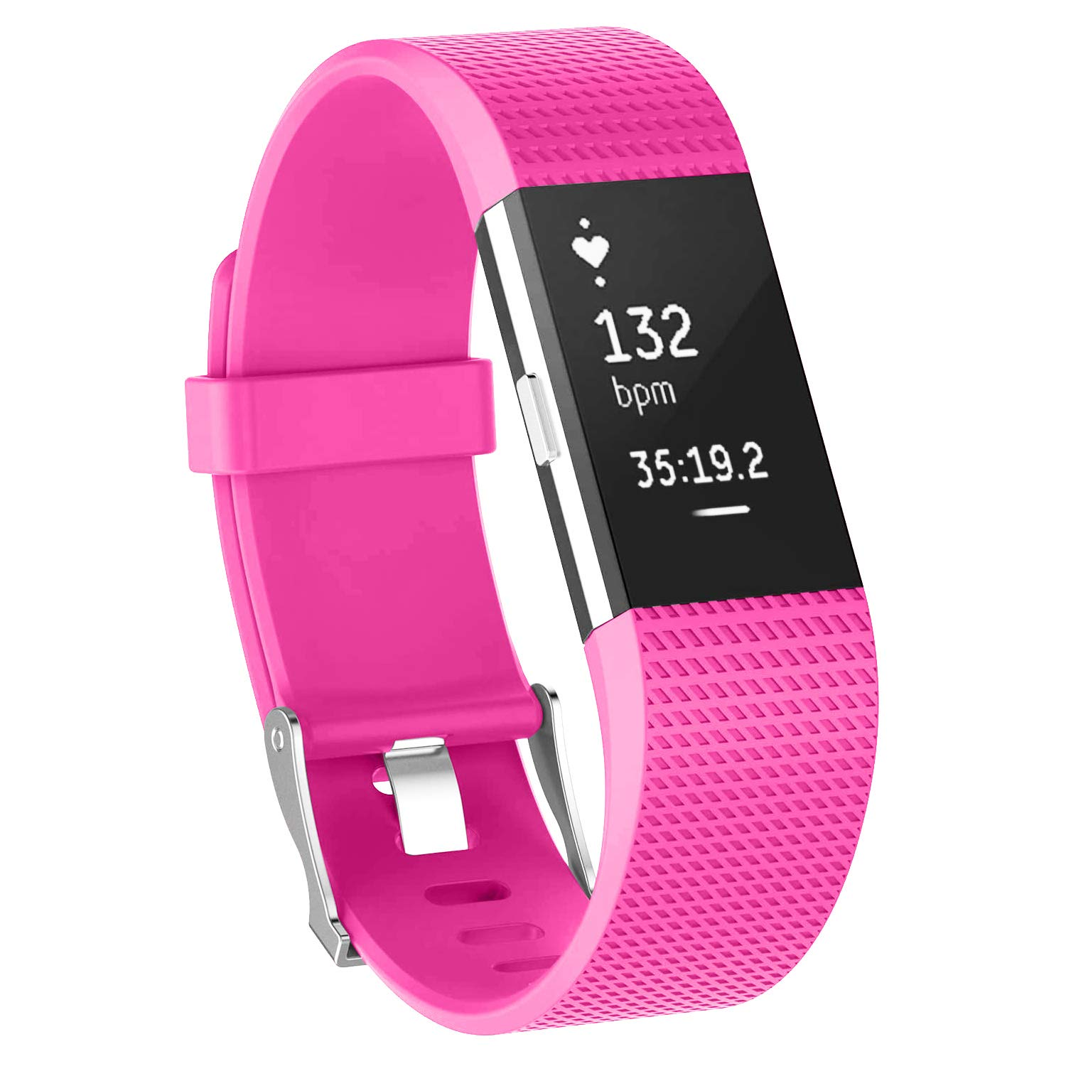 YOUKEX Sport Bands Compatible with Fitbit Charge 2, Classic & Special Edition Replacement Wristbands for Fitbit Charge 2, Women Men