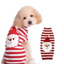 PETCARE Pet Dog Christmas Sweater Winter Warm Holiday Festival Clothes for Small Medium Dogs Cats