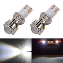 Calais 921 912 LED Reverse Light Bulbs Super Bright LED 921 T15 T16 W16W Bulb for Backup Back up Parking Lights,High Power CREE Chip 6500K White (Pack of 2)