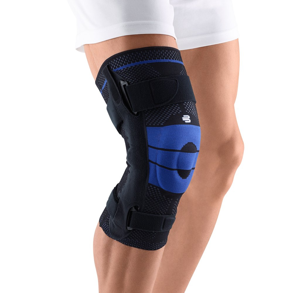 Bauerfeind GenuTrain Right S Knee Support (Black, 4)